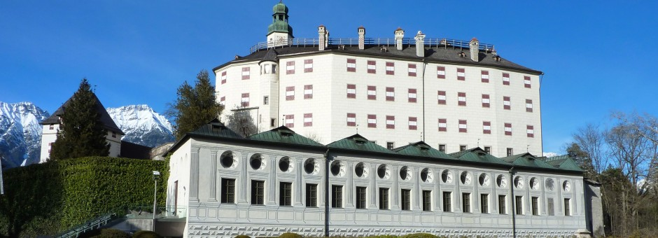 Discover amazing places such as Castle Ambras in Innsbruck...