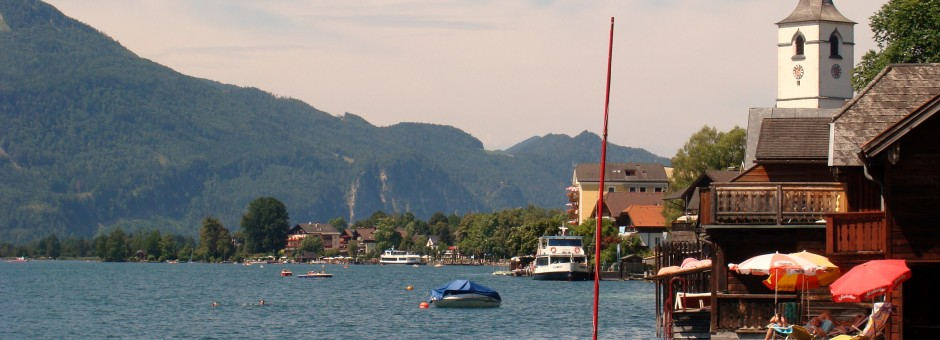 Let your soul relax at the lovely lake town of Saint Wolfgang......