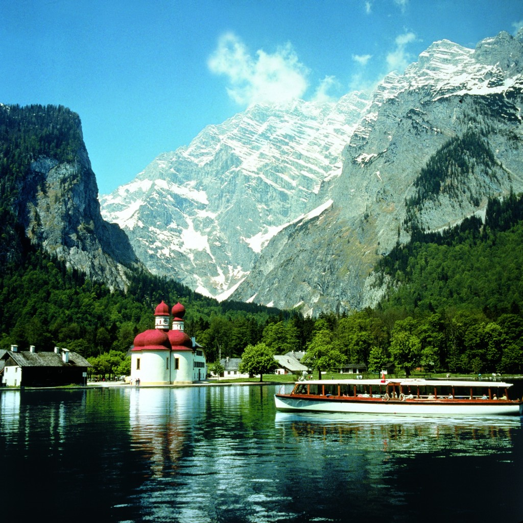May in Austria - Koenigsee - St. Barth.