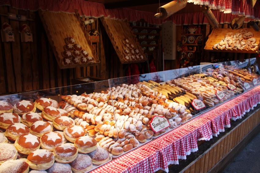 Vienna - Pastry Market