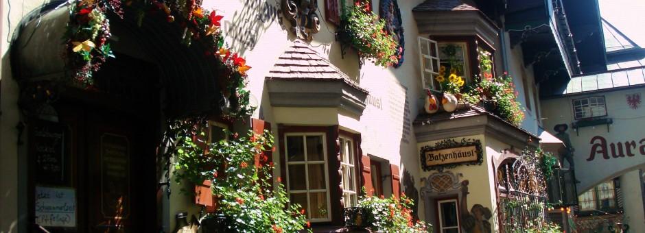 Dine at a cozy restaurant in beautiful Kufstein...