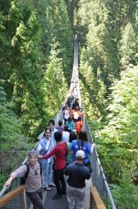 Canada Vancouver Suspension Bridge