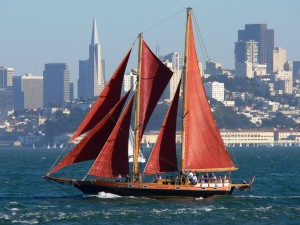 San Francisco English - Sailboat