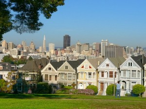 San Francisco English - Victorian Houses
